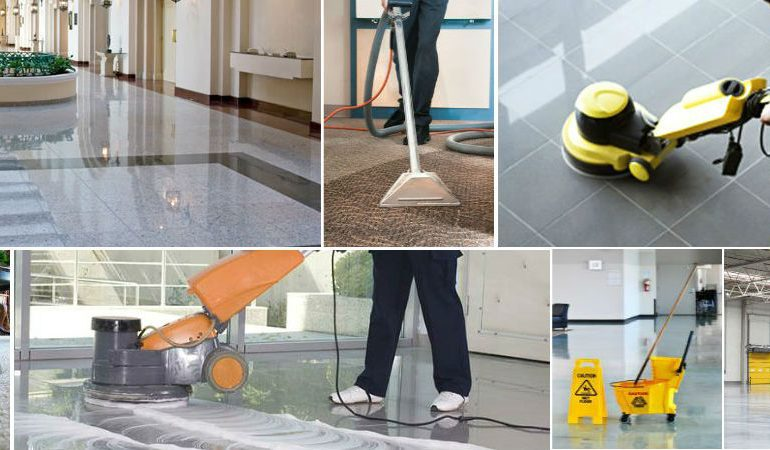 Office building cleaning company